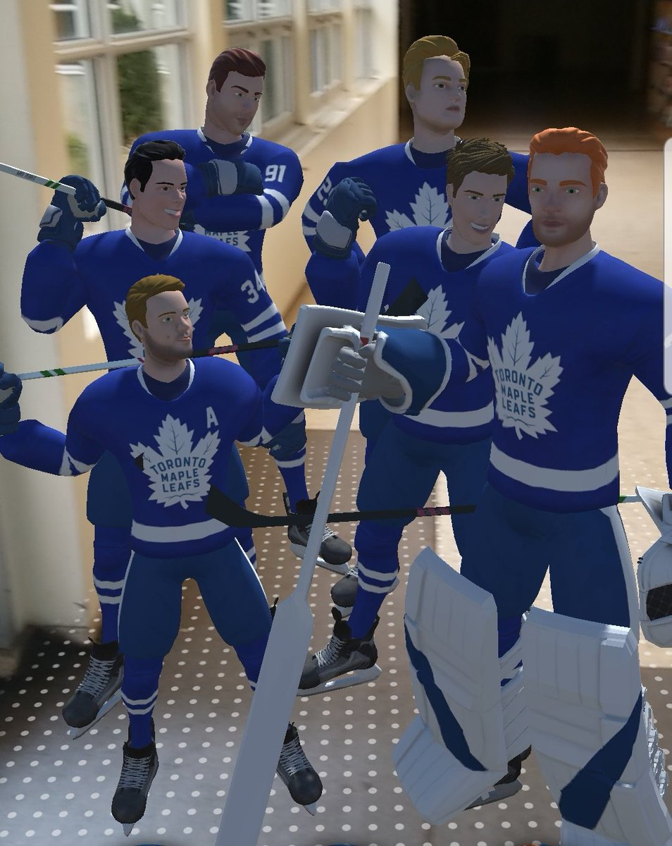 The Boys Came To Visit Me At Work #LeafsForever
