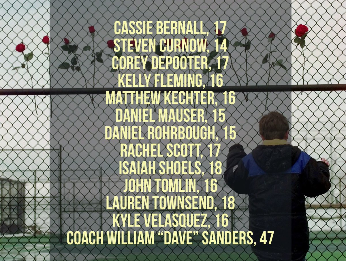 20 years ago today, two gunmen killed 12 students and one teacher at Columbine High School in Littleton, Colorado. We look back and remember those lives lost on April 20th, 1999.