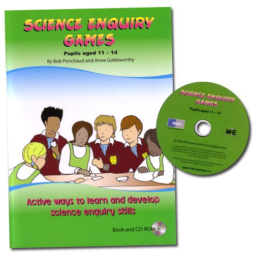 Science Enquiry Games 11-14 – secondary science enquiry skills £10.00  Science Enquiry Games is an #inspiring and #motivating #resource #designed to help #students in #secondary #schools develop and consolidate their understanding of #science enquiry.  http://ow.ly/xxvr50pZFID…