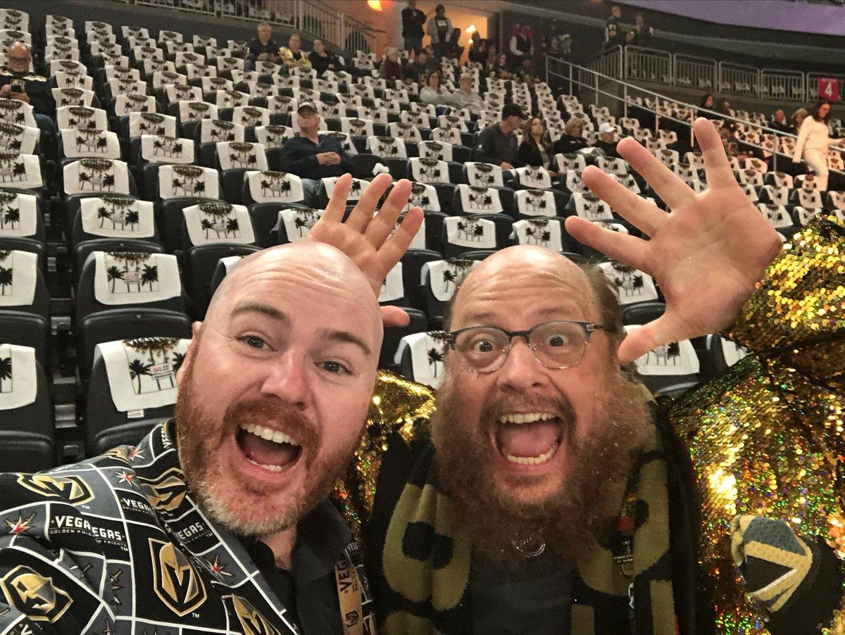 Playoff beards growing in nicely. -> He must use fertilizer. @GoldenKnights #VegasBorn #playoffbeard