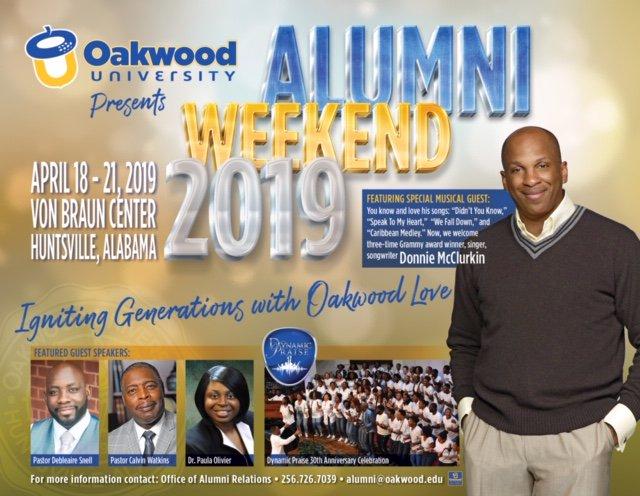 Social Media Posts for Oakwood University