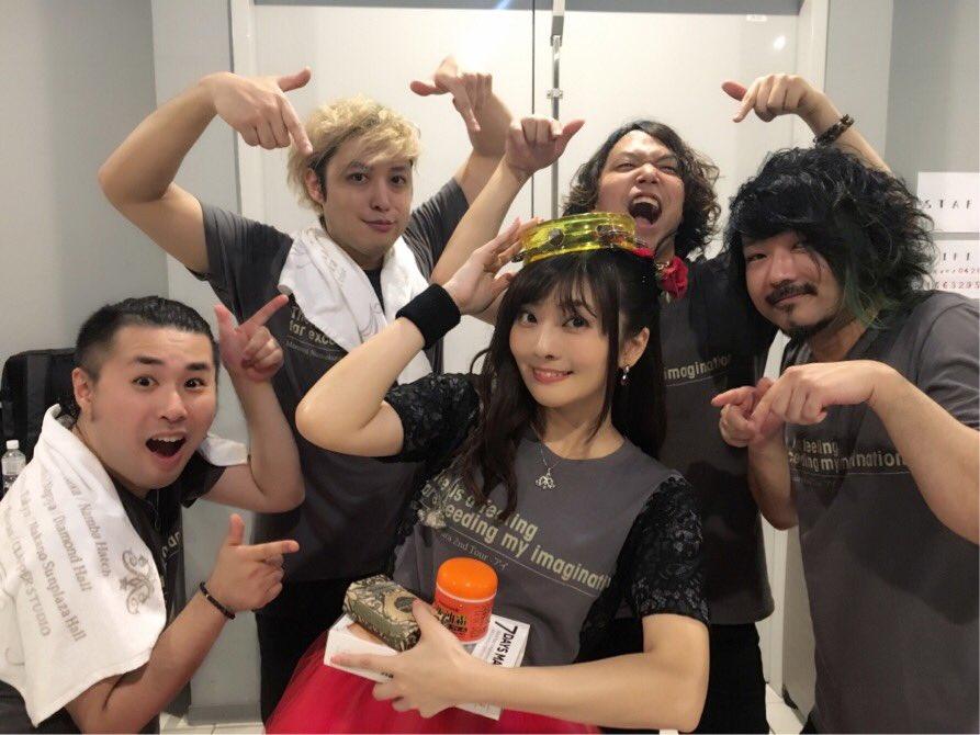 2ndライブツアー「アイ」最終日台北!!暑い熱い!今日もお誕生日祝ってもらっちゃいました💖みんなのおかげでとっても素敵なツアーができて、幸せです。ありがとうございましたー!!!#nu_nu_nu