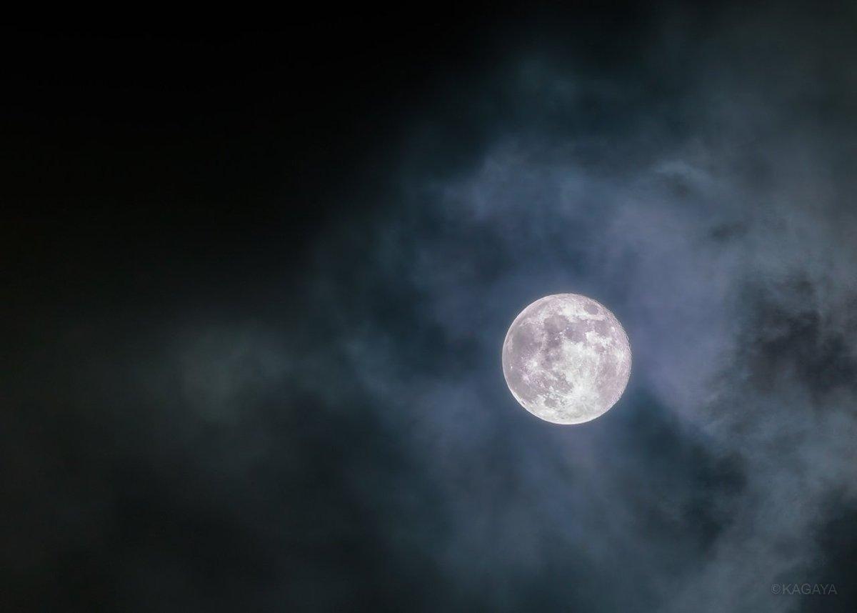 RT @KAGAYA_11949: 十六夜(いざよい)の月。 (今、東京にて撮影) 今日もお疲れさまでした。 明日もおだやかな1日になりますように。 https://t.co/9xT32pXhPy