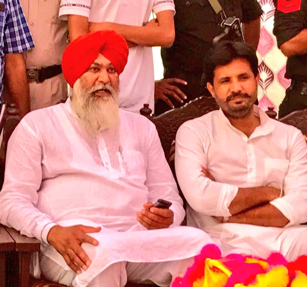 Heartiest Congratulation @RajaBrar_INC Give you Ticket For Lok Sabha Election 2019 at bathinda and Will Be Win huge merge   Best of Luck Chote veer