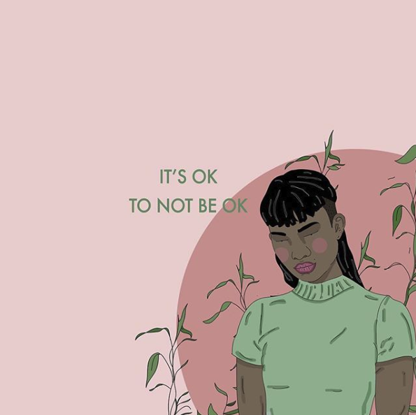 It's brave to ask for help 💚 Remember that we're here to support you 24/7 at 866.488.7386 or text/chat at: http://thetrevorproject.org/help    📲 🎨 art by recipesforselflove 🎨 #lgbtq+ #trans