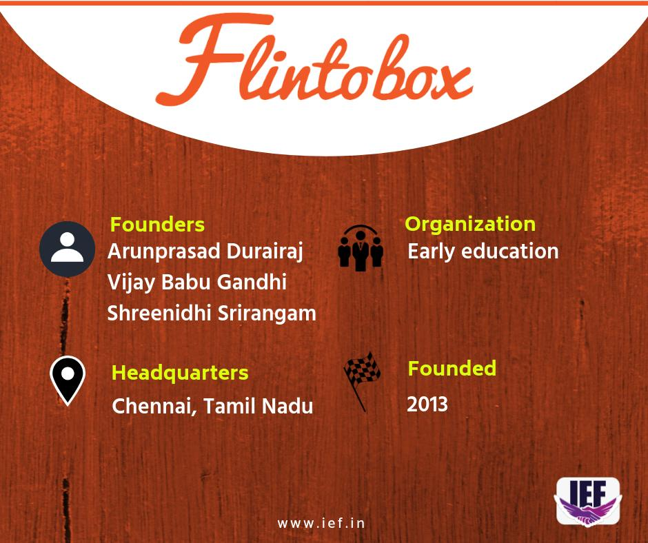 "IEF on Twitter: ""#Chennai-based @flintobox is an early #education #startup  enforcing home education via a subscription box. Launched in 2013 by  Arunprasad Durairaj, Vijay Babu Gandhi, and Shreenidhi Srirangam Flintobox  aims to"