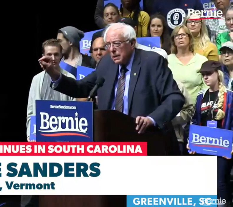 We have Endeavour Brewing fans everywhere!  Including at a Bernie Sanders rally in South Carolina.   #sturgeoncounty #yegbeer #stalbert #abbeer