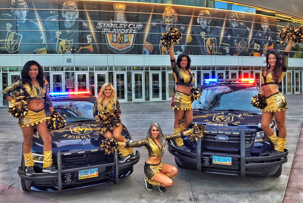 The VGK Charger will be at the @TMobileArena tomorrow for game 6 of the playoffs. Not that we are superstitious or anything but the NHP VGK cars are 2-0 when at the Fortress this year, just saying! Go Knights Go!!! @GoldenKnights #gonefishing #vegasborn #stanleycup #nhpsocomm