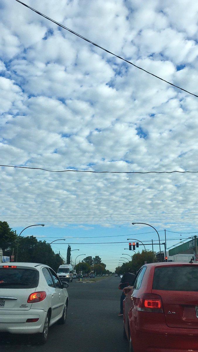 Lindo cielo en Rosario @AlpioCosta @SMN_Argentina @emergenciasAR