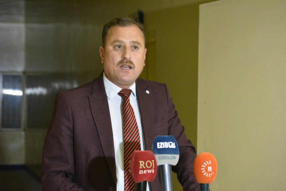 Shakar Mulhim, sub-district commissioner of Grr-Ozer, a sub-district associated with the predominantly #Ezidi town of #Shingal (#Sinjar) west of #Ninewa province has formally resigned.