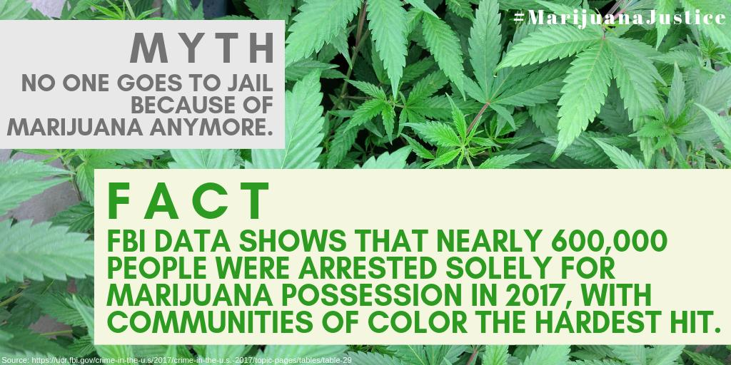 The Marijuana Justice Act would reform drug laws by descheduling marijuana & ensuring that profits from the legal cannabis industry get re-invested into low-income & communities of color that have been devastated by unequal marijuana law enforcement. #MarijuanaJustice