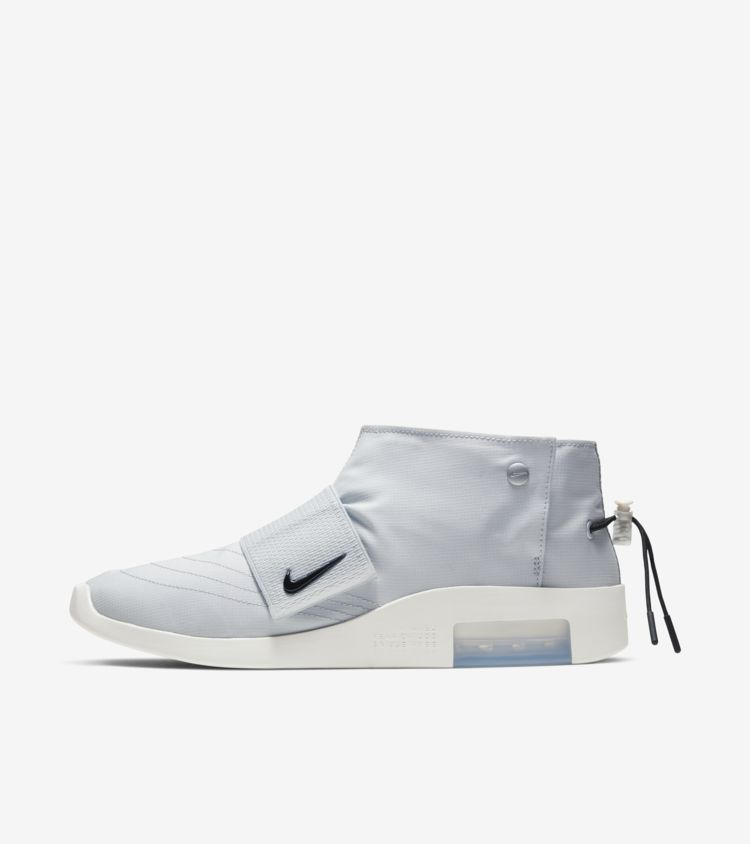 """Nike Air Fear of God Moc """"Pure Platinum"""" releases April 27th $170 -> https://go.j23app.com/bpp"""