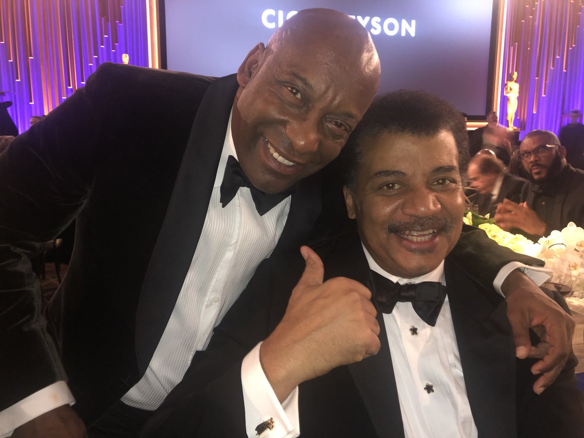 Neil deGrasse Tyson's photo on John Singleton