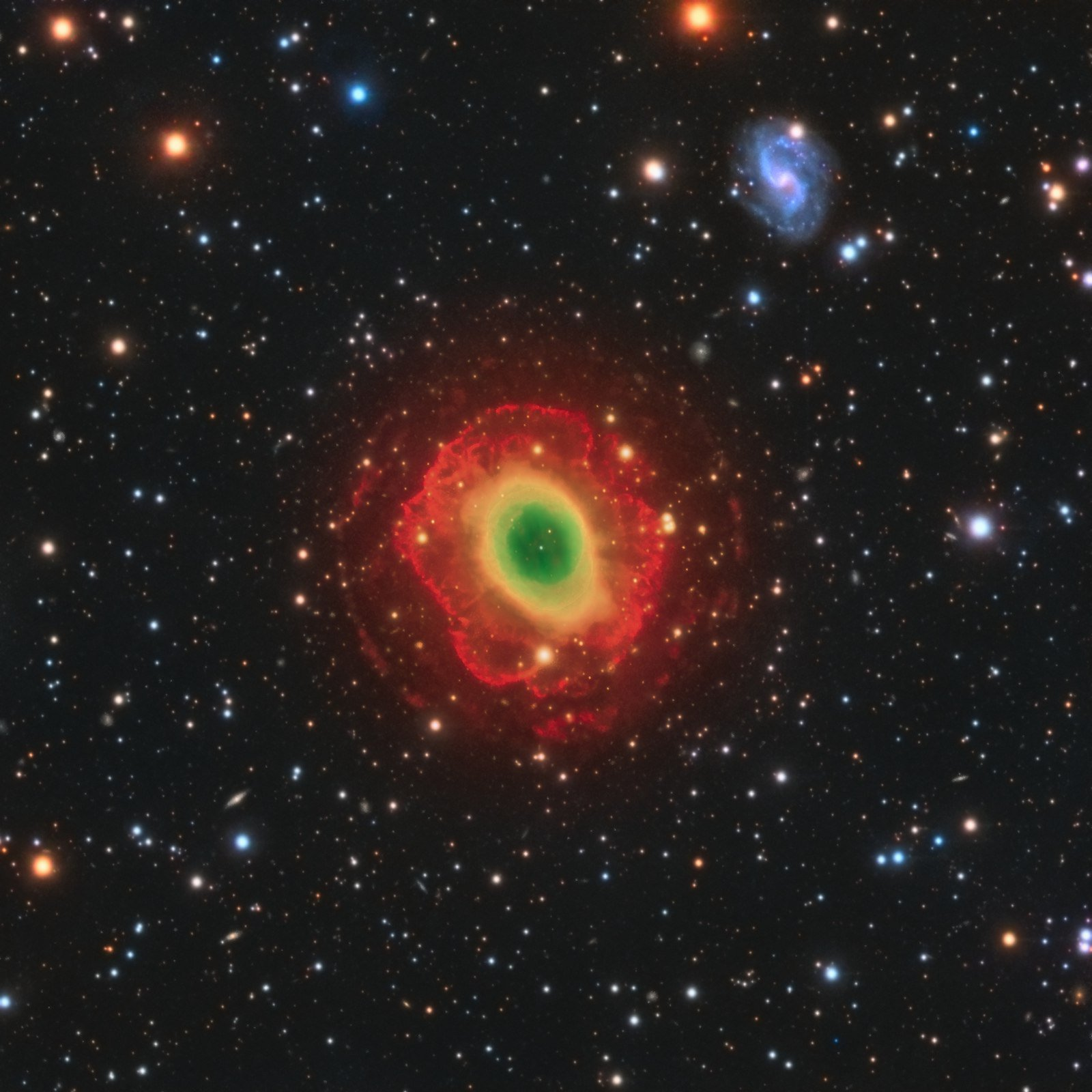 ring nebula distance - HD 1600×1600