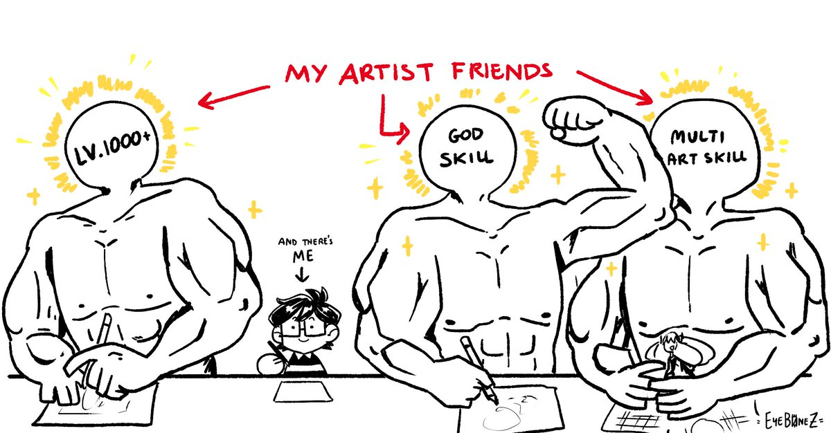 I love my artists friends