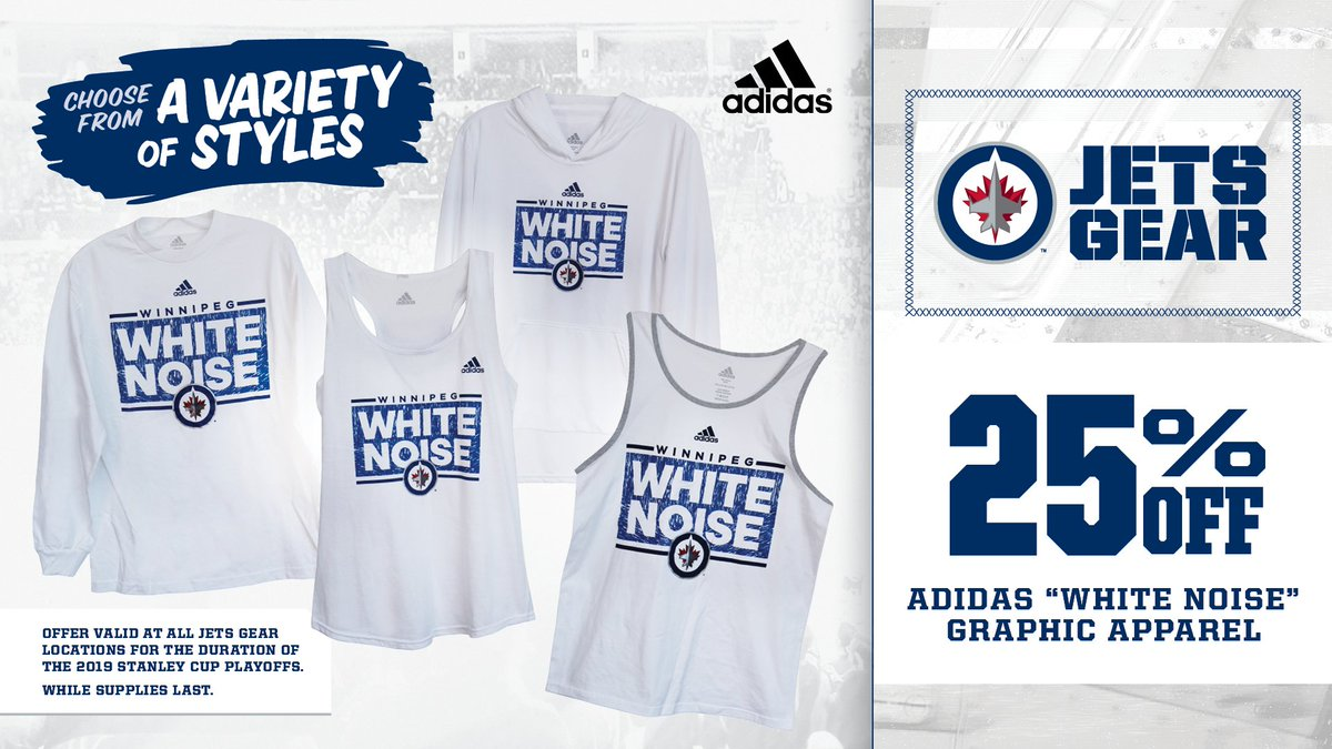 Jets Gear On Twitter Save 25 Off Adidas White Noise
