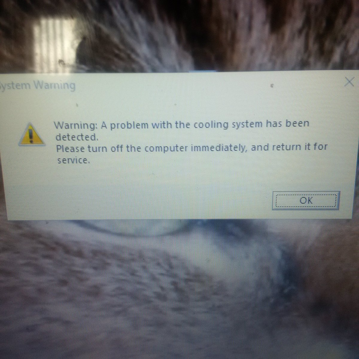 After seeing this, I had just enough time to backup my data before it shut itself down.  #VirtualAssistant <br>http://pic.twitter.com/mAy29Ts6SU