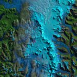 Image for the Tweet beginning: The northern Patagonia icefield's rising
