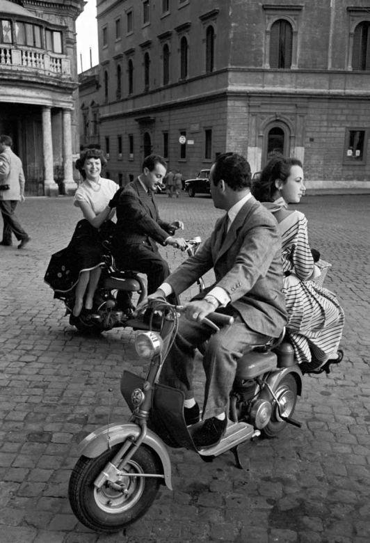 журнал италия ретро фото жителей второй