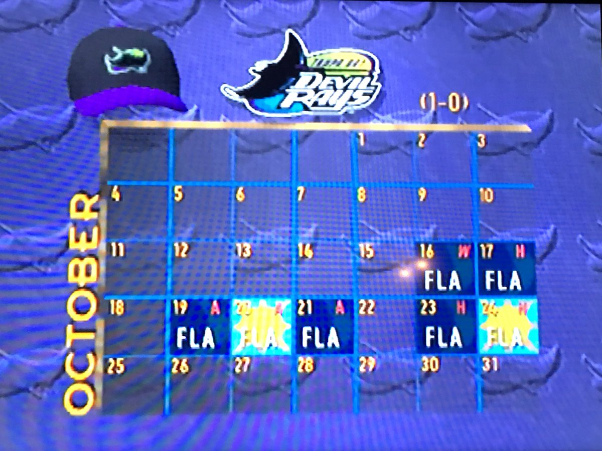 Playing as the #DevilRays on N64 occupied much of the late 90's for me. #RaysUp !<br>http://pic.twitter.com/FimedXsfCv