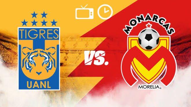 Tigres empato 3-3 ante los Monarcas Morelia Jornada 15 Liga MX 2019