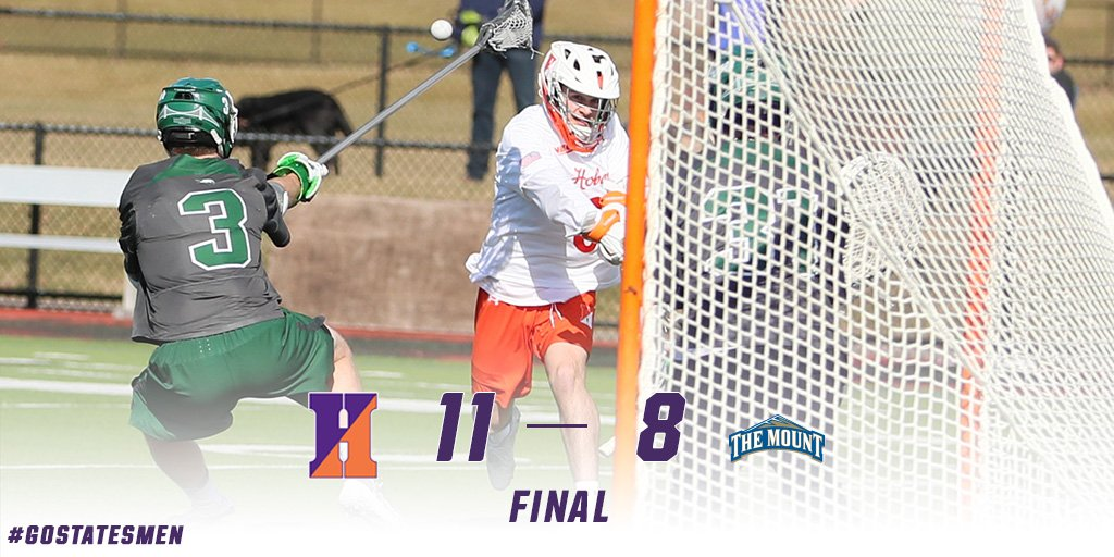 Hobart tops Mount St. Mary's to move into 1st in NEC