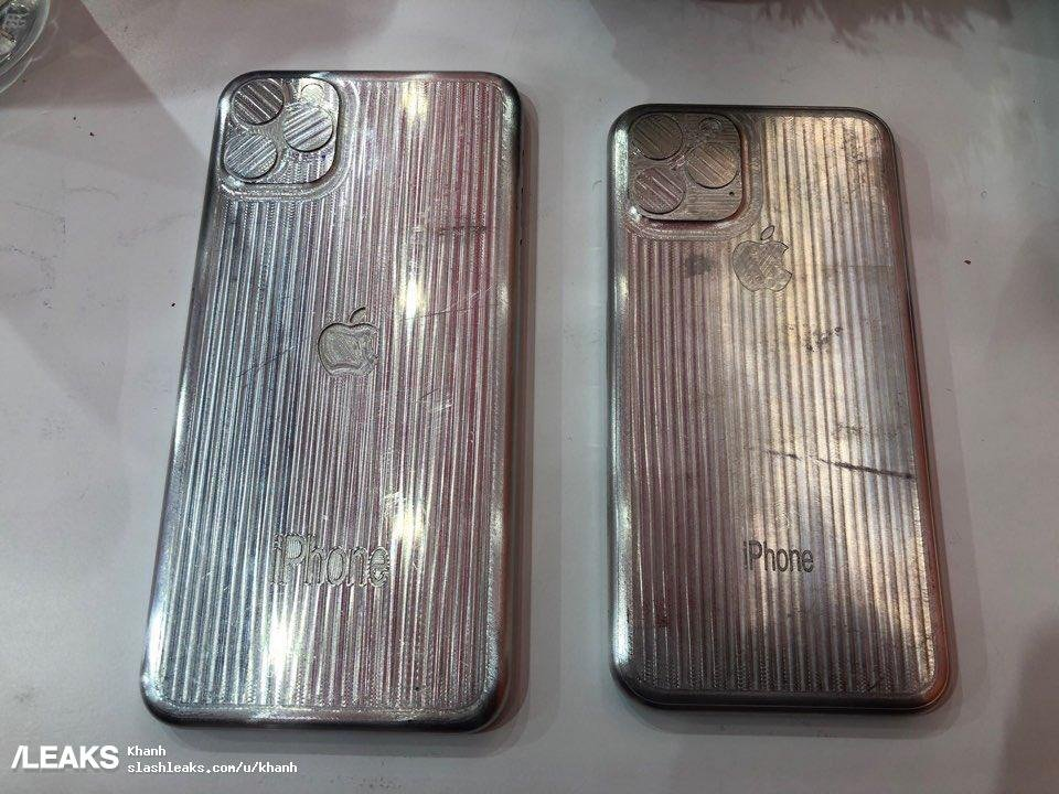'iPhone XI' and 'iPhone XI Max' case manufacturing dummies pop up on Chinese social media https://t.co/nz7O5hyzeR $AAPL https://t.co/0vfChK4nq8