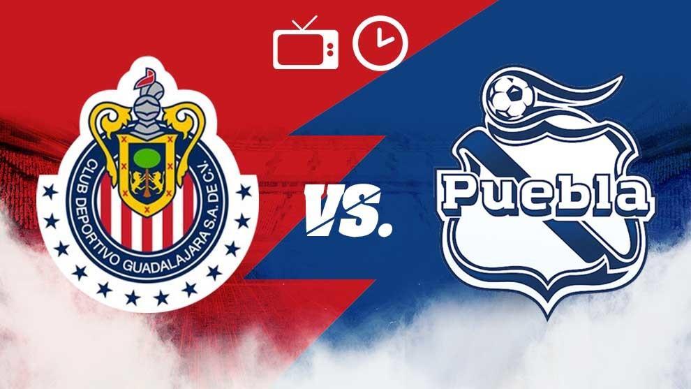 Chivas Guadalajara VS Puebla Jornada 15 Liga MX 2019