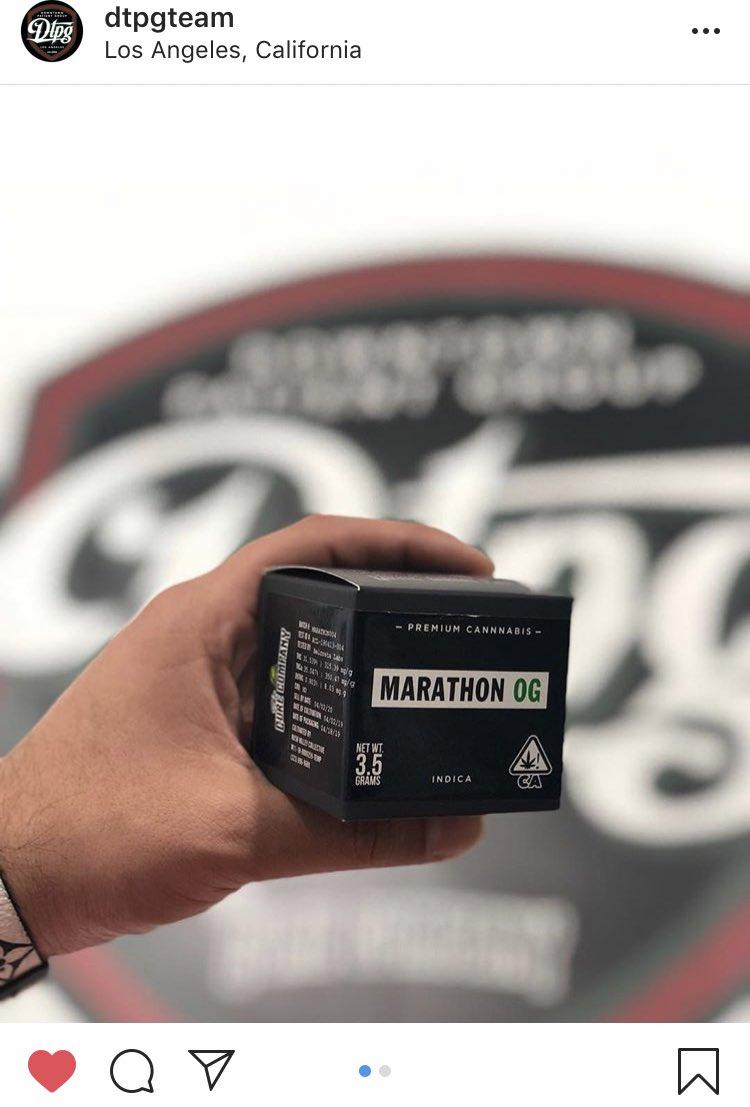 The marathon og