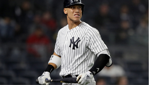 Aaron Judge leaves game in sixth inning | #Yankees  📲Read: http://bronxpinstripes.com/news-rumors/aaron-judge-leaves-game-in-sixth-inning/ …