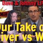 Image for the Tweet beginning: Dave & Johnny from Wrestling