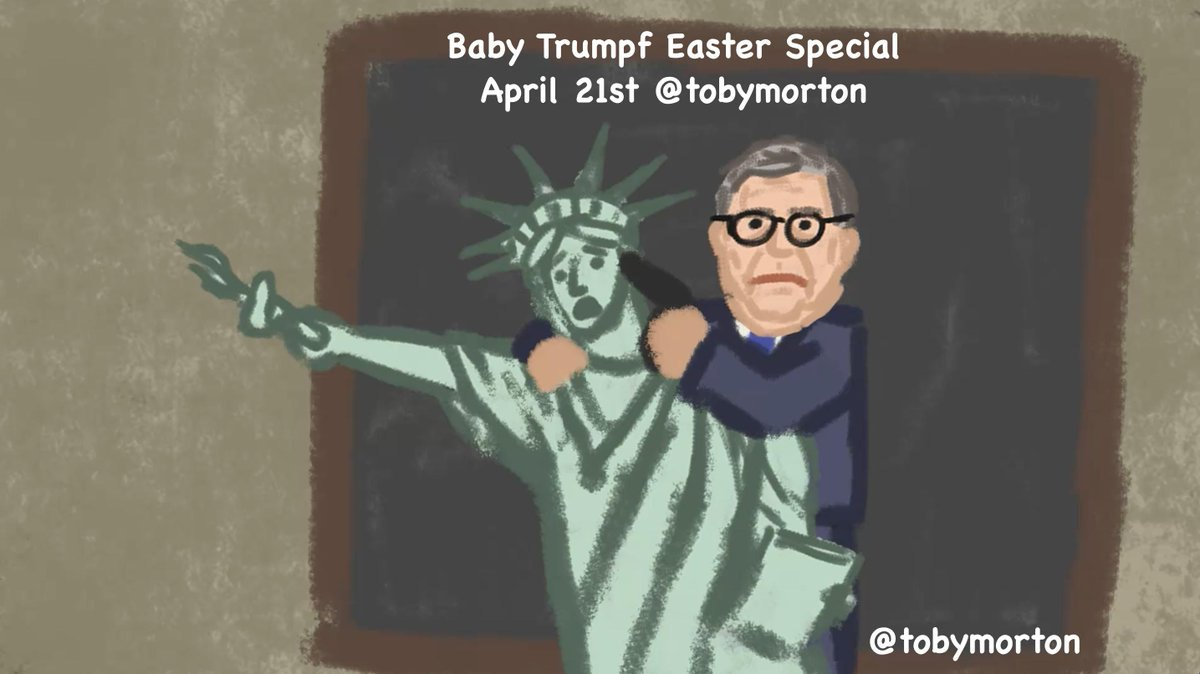 TOMORROW April 21st.  Jesus is/has/did Risen To Defeat: William Barr @PressSec  And hopefully finally putting to rest, @DevinNunes   Retweet and Follow @tobymorton