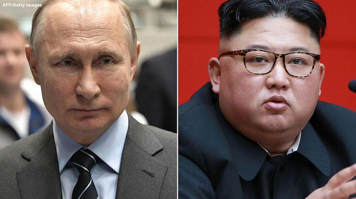 Kim Jong Un to meet with Vladimir Putin as North Korea pivots to Russia for help. https://abcn.ws/2ZomAXa