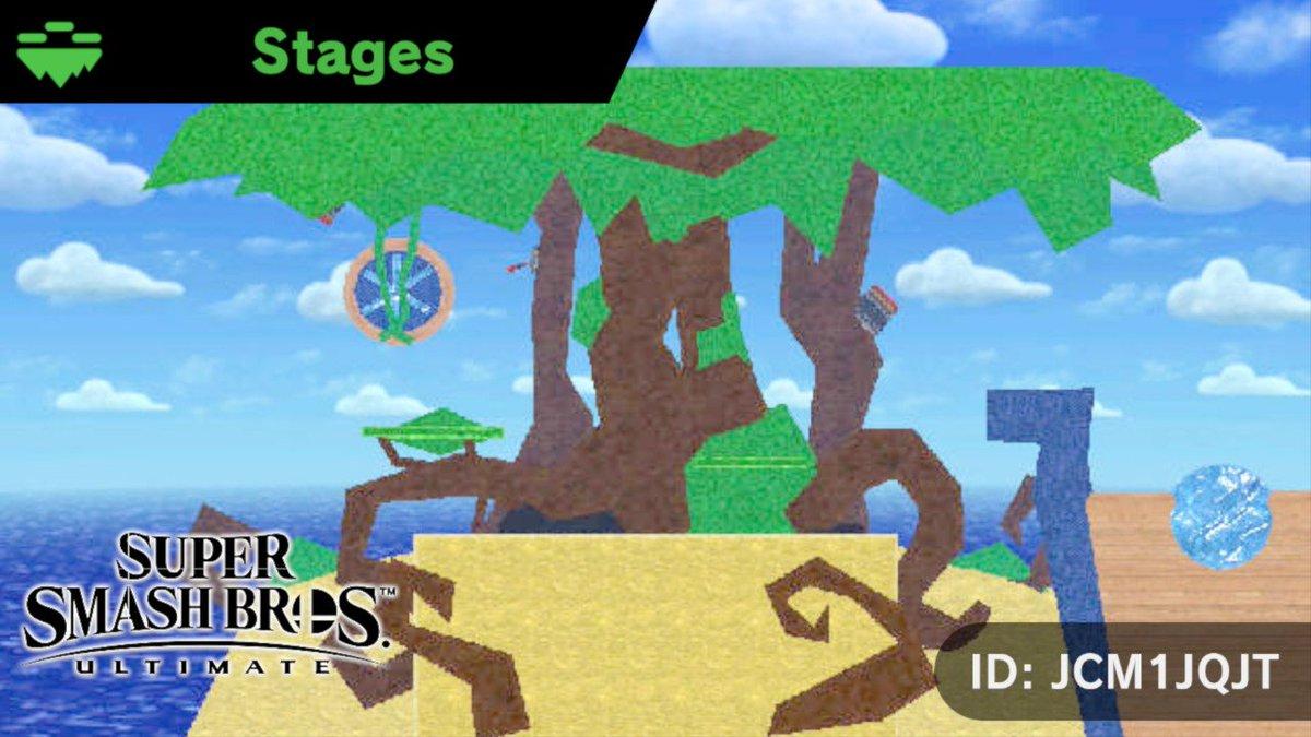 Smash Ultimate Stage Builder Contest - DK Vine Forum