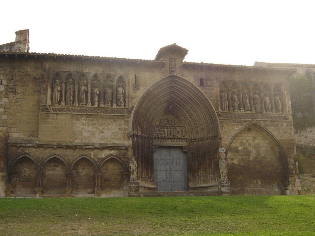 110/365 Iglesia del Santo Sepulcro, Estella-Lizarra, Navarra, España #reto365 #reto365fotos #retos #Navarra #Estella #Spain