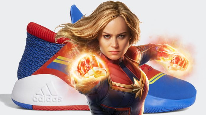 ADIDAS Shows Off Marvelous CAPTAIN MARVEL Shoes In Official Photos - https://comicbook.com/marvel/2019/04/20/adidas-captain-marvel-shoes-new-photos/…