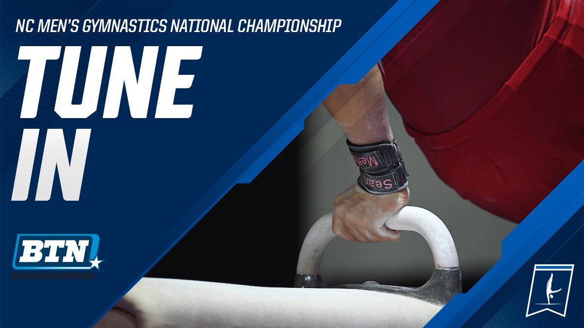Tune in to the @BigTenNetwork at 7 p.m. ET tonight for the 2019 National Collegiate Men's Gymnastics team final! #ncaaGym