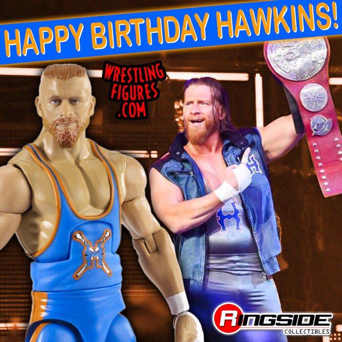Happy Birthday @TheCurtHawkins ! . . . #WrestlingFigures #Raw #RawTagTeamChampion #CurtHawkins #TagTeamTitles #WWEEliteSquad