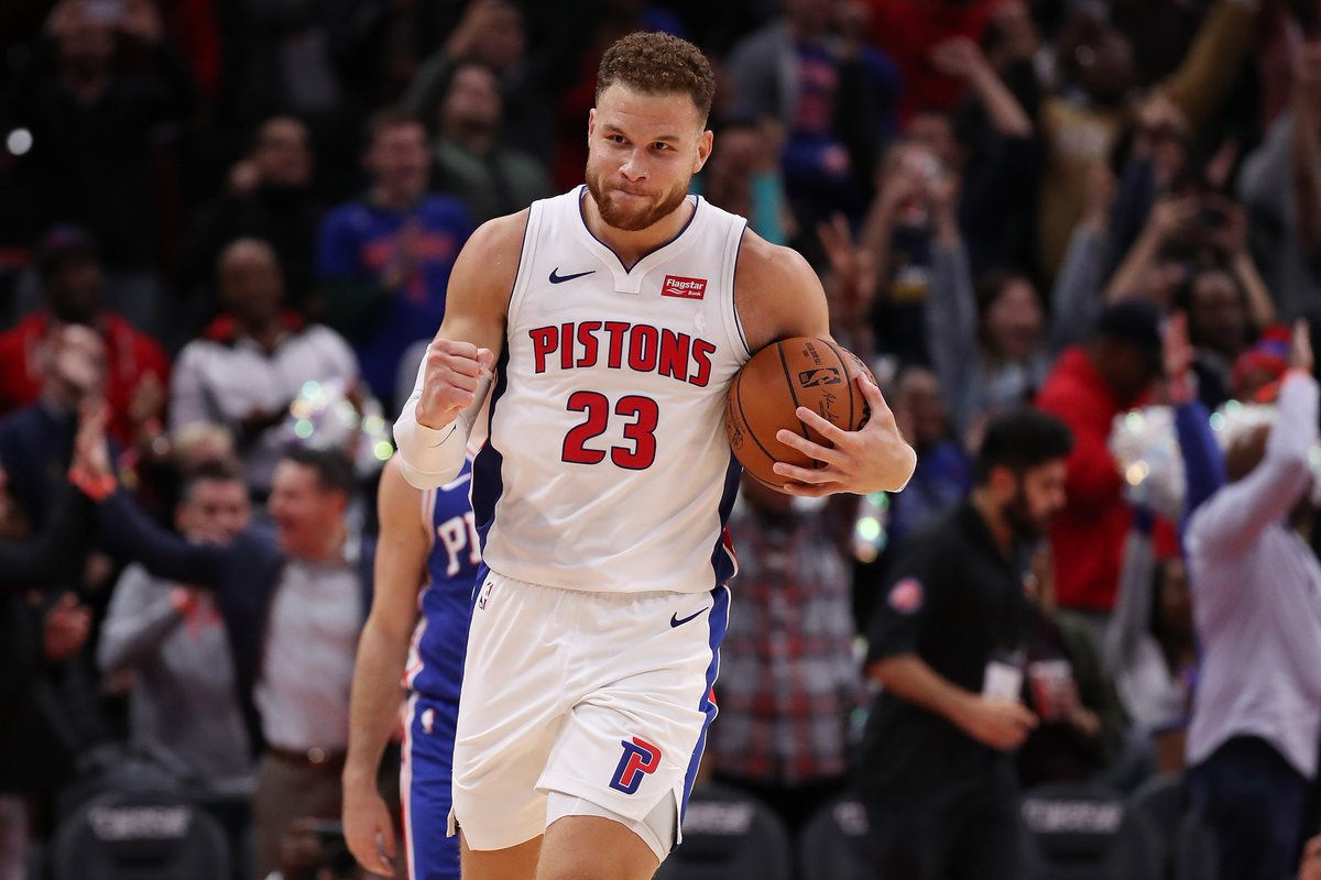 Blake Griffin is ACTIVE for Game 3 against the Bucks, per @Keith_Langlois https://t.co/JtFbHzCZzC