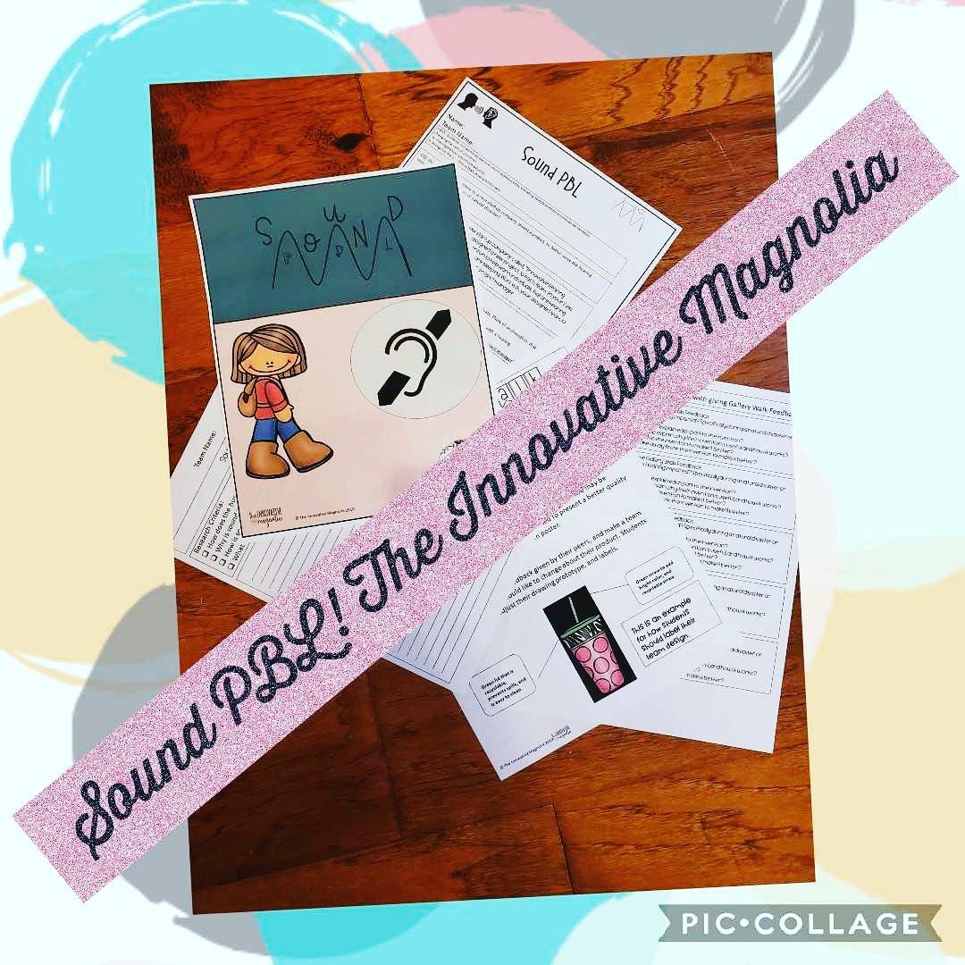 Check out my new product. Sound PBL! #teacherspayteachers #teachersfollowteachers