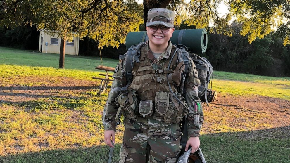 Transgender ROTC cadet says he lost military scholarship after new DOD policy took effect. https://abcn.ws/2Xufte0
