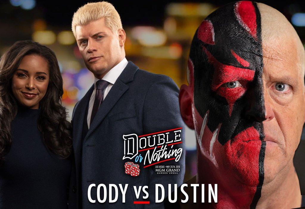 Dustin Rhodes's photo on #DoubleOrNothing