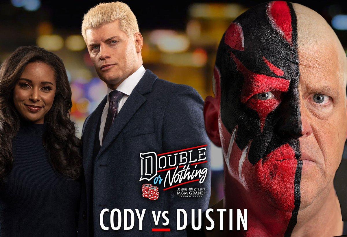Wrestling Travel's photo on #DoubleOrNothing