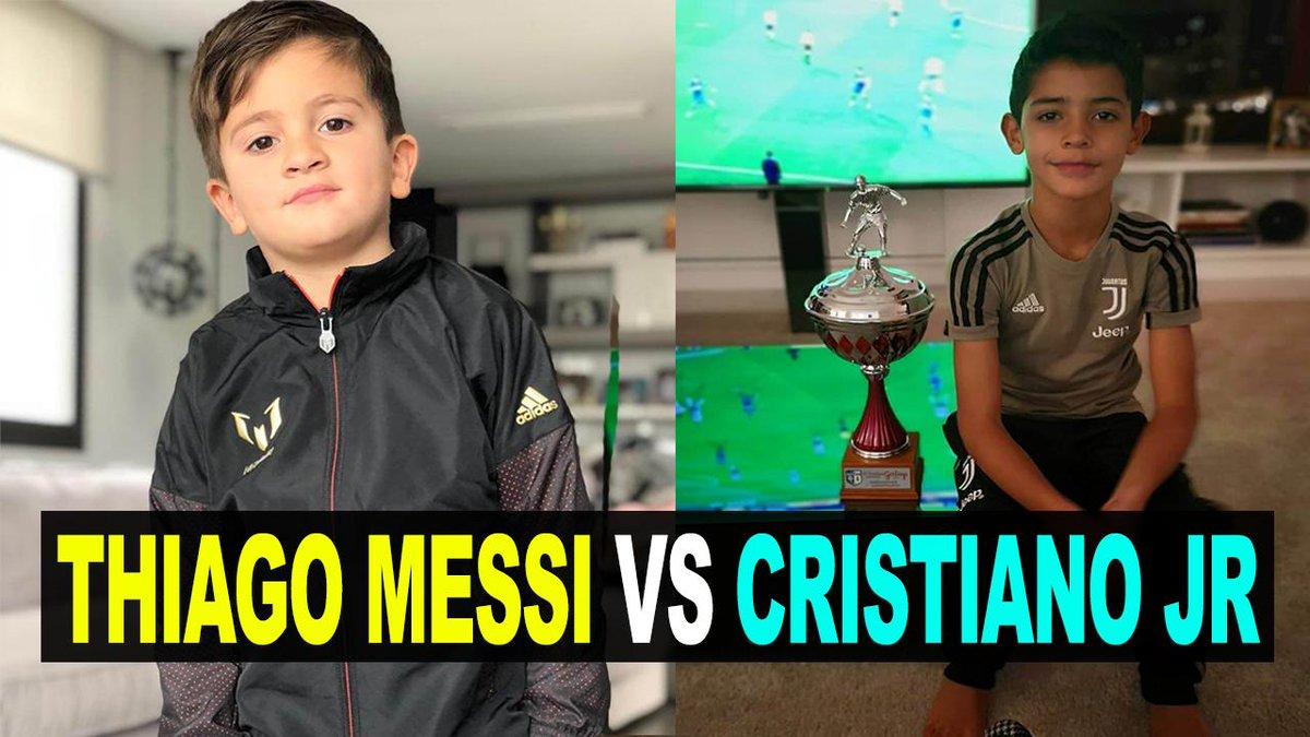 THIAGO MESSI VS CRISTIANO RONALDO JR ¿QUIÉN TIENE EL MEJOR ESTILO DE VIDA? ¿QUIEN SERA LA PRÓXIMA LEYENDA? VÍDEO>>http://goo.gl/1wHgWq      #thiago #cristiano #neymar #barcelona #realmadrid #juventus #argentina #messi #cr7 #psg #argentina #zidane #mbappe #Tottenham #Liverpool