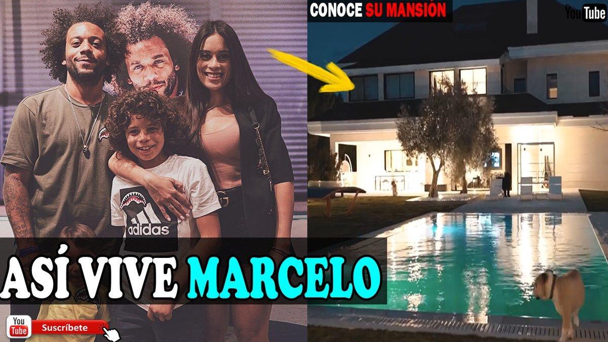ASÍ VIVE MARCELO, CONOCE SU ESPECTACULAR MANSIÓN, SU HERMOSA FAMILIA, SU ESTILO DE VIDA Y MUCHO MÁS  VÍDEO>>http://bit.ly/2Q4baSZ               #marcelo #brasil #realmadrid #vinicius #cristiano #ramos #juventus #neymar #messi #Barcelona #zidane #juve #LaLiga #Griezmann #mbappe