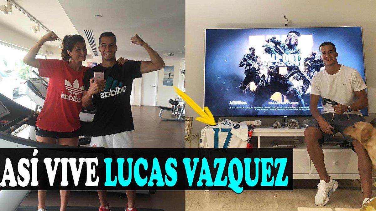ASÍ VIVE LUCAS VAZQUEZ, EL CANTERANO MAS GUERRERO DEL REAL MADRID, CONOCE A SU HERMOSA ESPOSA Y MÁS VÍDEO>>http://goo.gl/bMy6FP    #barcelona #barca #realmadrid #madrid #marcelo #vinicius #messi #zidane #cr7 #CristianoRonaldo #cristiano #zizou #mbappe #son #Tottenham #psg