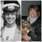 Image for the Tweet beginning: Confessions Star, Robin Askwith (Then/Now)
