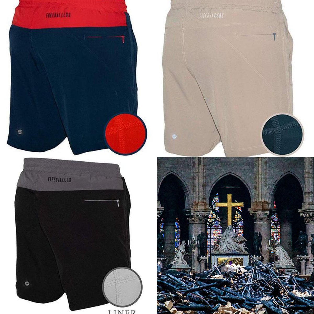 f96af148b8 Big restock on the sport shorts! 10% of all orders go to Notre Dame
