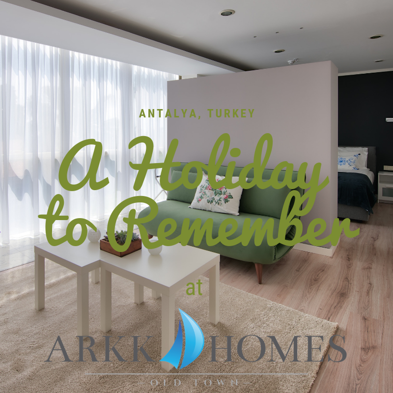 Enjoy luxurious holidays in the apartments of #arkkhomes. The equipment and location leave nothing to be desired. #antalya #kaleici #luxury #holiday #relaxing #heartofthecity