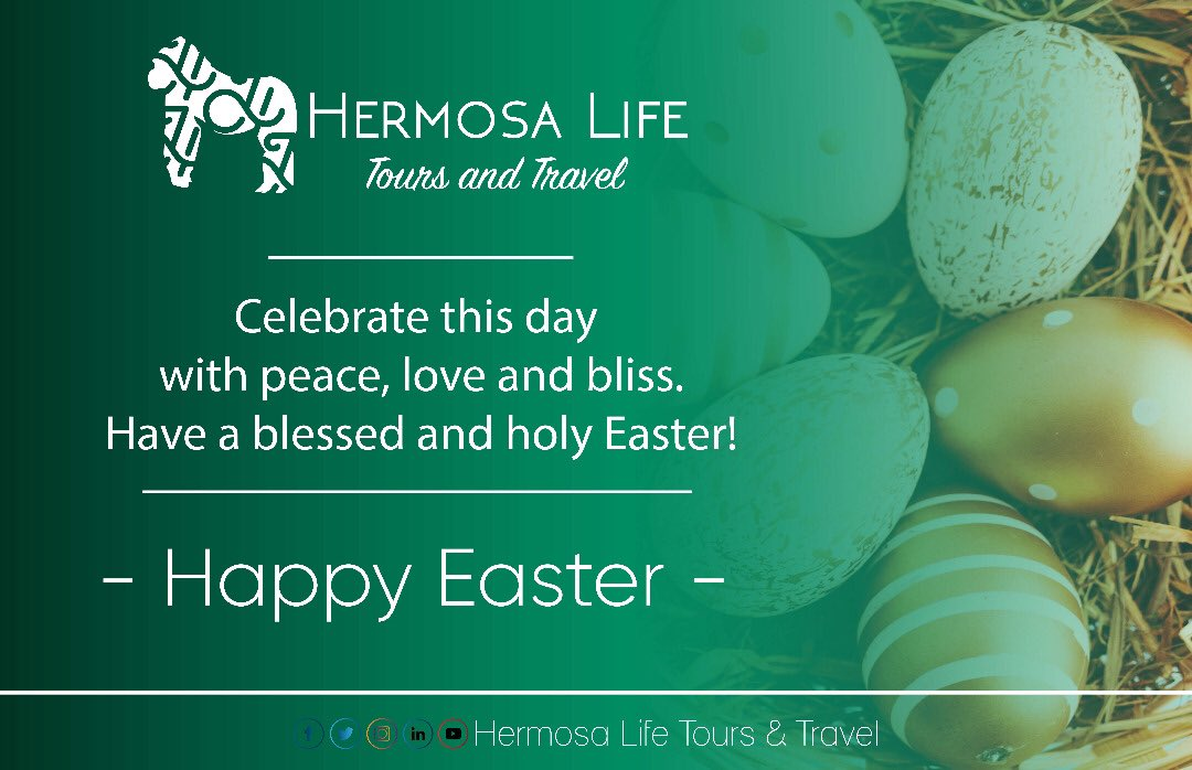 Celebrate this day with peace, love and bliss. Have a blessed and holy Easter! . HAPPY EASTER . #Rwanda #VisitRwanda #Easter #HappyEaster #HappyHoliday #NewLife